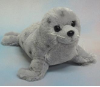 "Grey Spotted Seal 10"" by Wishpets"