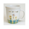 """Live Love Laugh"" Oversized Mug by Natural Life"
