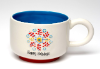"Oversized Mug ""HAPPY HOLIDAYS"" by Natural Life"