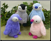 "Pastel Large Baby Penguins 10"" by Wishpets"