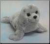 "Grey Spotted Seal 15.5"" by Wishpets"