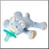 Thready Teddy WubbaNub –Blue – 8″ by Mary Meyer