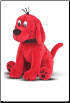 "Clifford Big Red Dog Sitting Medium Cuddle Pal 11"" by Douglas"