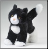 "Snippy Black and White Cat 8"" by Douglas"
