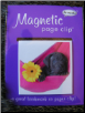 Black Lab Pup in a Hammock Deluxe Single Magnetic Page Clip Bookmark by Re-marks