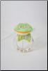 Green Frog Ring Rattle by Douglas