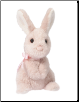 "Clover Pink Bunny 7"" by Douglas"
