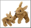 "Biscuit Large Golden Bunny 12"" by Douglas"