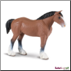 "Winner's Circle Clydesdale Stallion Figure 6"" by Safari Ltd"