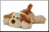 "Scruff the Plush Puppy Dog 8"" by Aurora"