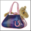 "Betsey Bling Pet Carrier with Horse 8"" by Aurora"