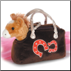 "Horseshoes Pet Carrier with Horse 8"" by Aurora"