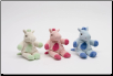 "Sitting Pastel Horse Baby Rattle 6"" by Unipak"