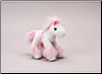 "Pink and White Fancy Horse  7"" by Unipak Designs"