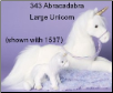 "Abracadabra Unicorn 27"" by Douglas"