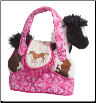 "Rodeo Pink Tote Purse with Horse - 7"" by Douglas"