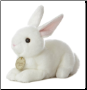 "American White Bunny Rabbit Small 8"" by Miyoni"