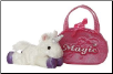 "Fancy Pal Magic Pet Carrier with Unicorn 8"" by Aurora"