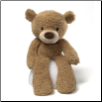 "Fuzzy Beige Bear 13.5"" by Gund"