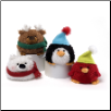 "Winter Wonderland Jollies Beanbags 3"" by Gund"