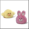 "Puff-Ums Chick and Bunny 4"" by Gund"