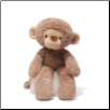 "Fuzzy Monkey 13.5"" by Gund"