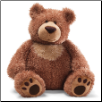 "Slumbers Brown Bear 17"" by Gund"