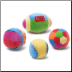 "Colorful Sports Balls 4"" by Gund"