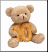 "Ten Years Birthday Bear 4"" by Russ"