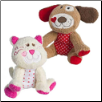 "Cheery Cheeks Little Frisky Cheeks Puppy and Kitty- 4"" by Mary Meyer"