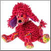 "PRINT PIZZAZZ Raspberry Poodle - 10"" by Mary Meyer"