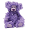 "Candee Fluff Grape Pop Small Bear 13"" by Gund"