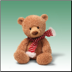 "Noggin Tan Holiday Bear 13""  by Gund"