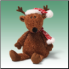 "Figgy Reindeer 14"" by Gund"