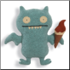 "Foodies Ice Bat with Ice Cream Cone 11"" Uglydoll by Pretty Ugly"