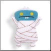 "Ugly Universal - Ugly-Mummy Babo 11"" Uglydoll by Pretty Ugly"