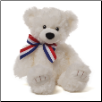 "Molly White Bear 13"" by Gund"