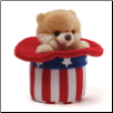 "Itty Bitty Red, White and Boo 5"" by Gund"