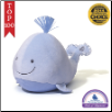 "Sleepy Seas Sound and Light Blue Whale 12"" by Gund"