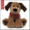 "Bandit Sitting Dog 9"" by Gund"