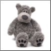 "Slouchers the Gray Bear 20"" by Gund"