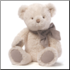 "Amandine Cream Teddy Bear 15"" by Gund"