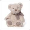 "Amandine Cream Teddy Bear with Chime 15"" by Gund"