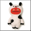 "Ugly Animals Wage Cow 11"" Uglydoll by Pretty Ugly"