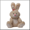 "Blossom Cream Bunny Medium 9"" by Gund"
