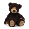 "Babbs Dark Plum Bear 18"" by Gund"