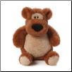 "Kaboodle Junior 10"" Brown Teddy Bear by Gund"