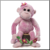 "Electra Pink Monkey 15"" by Gund"
