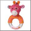 "Jasmine Giraffe Ring Rattle 5"" by Mary Meyer"