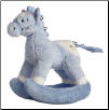 "Rocking Buckaroo Blue Horse 12"" by Aurora"